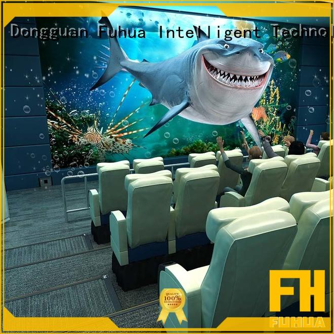 Fuhua commercial 4d 5d cinema different experience for cinema