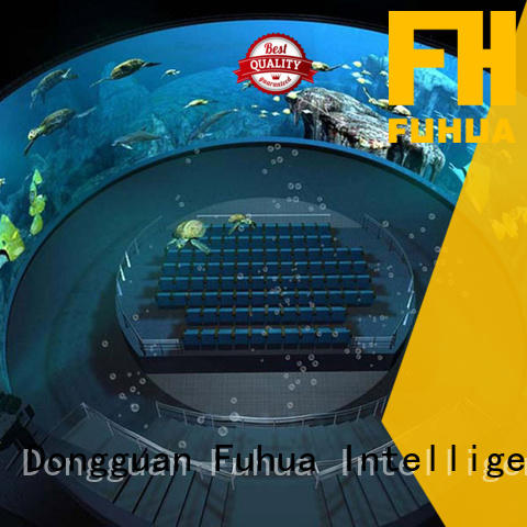 Fuhua luxury projection dome China for space & science center