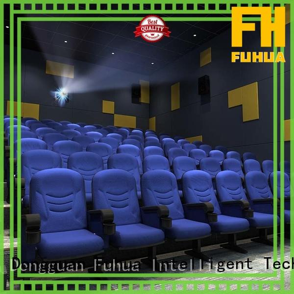 Fuhua professional 3d movie theater 3D control Shopping Malls