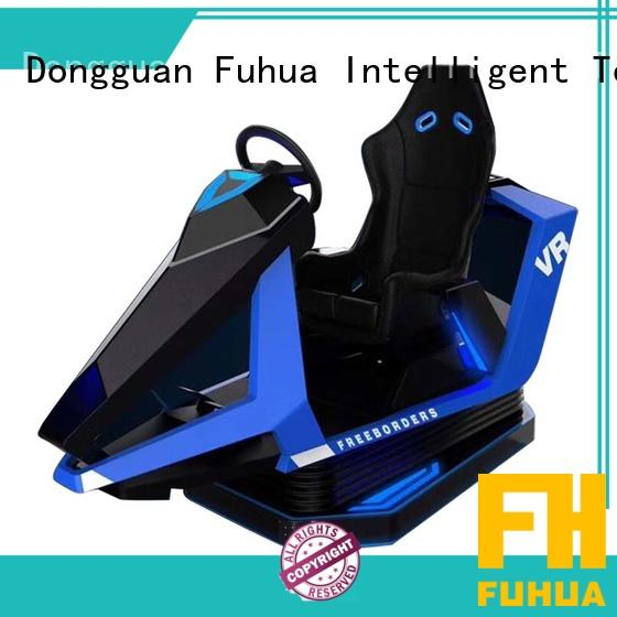 Fuhua indoor racing car simulator for sale for cinema
