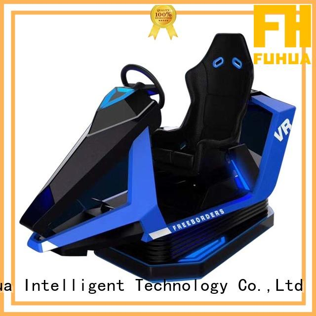 Fuhua high performance vr racing simulator engines for park