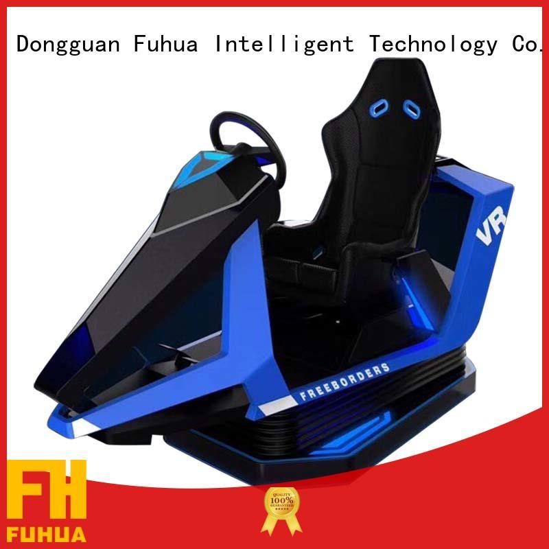 Fuhua vr best racing simulator for cinema