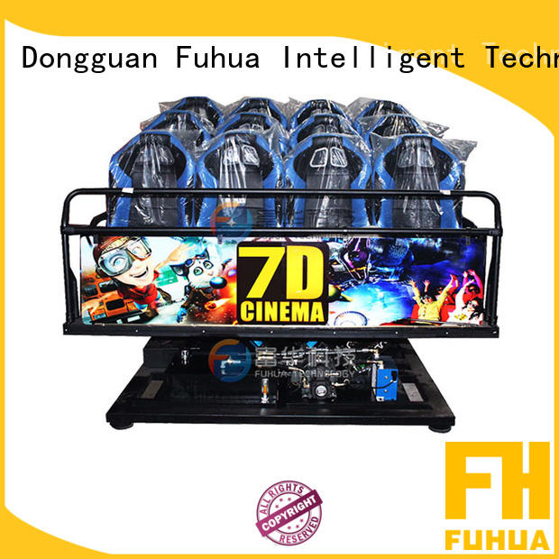Fuhua Interactive 7D Cinema Theater 6 DOF Electric Motion Seat