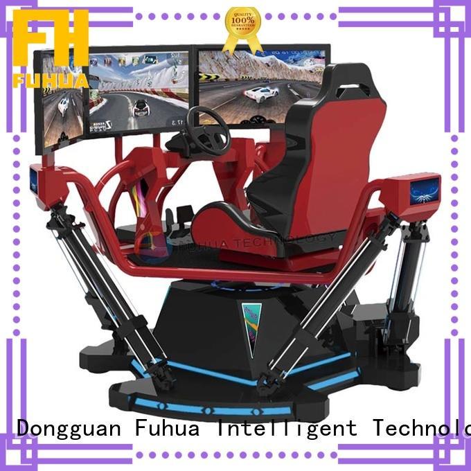 arcade car racing game simulator engines theme park