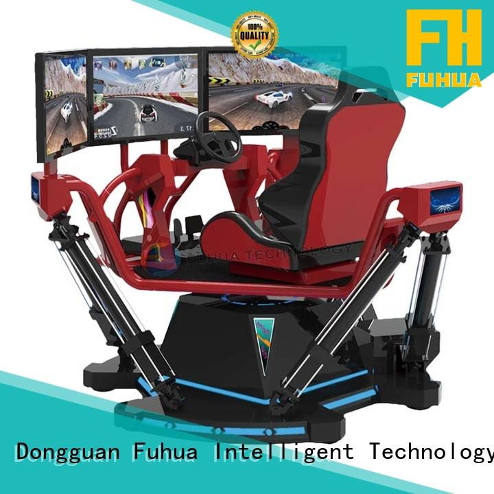 Fuhua motorcycle car racing game simulator dynamic control technology for park