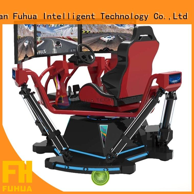 cool racing car simulator center for sale for park