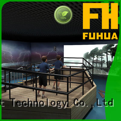 Fuhua high performance voyage simulator for sale for commercial amusement