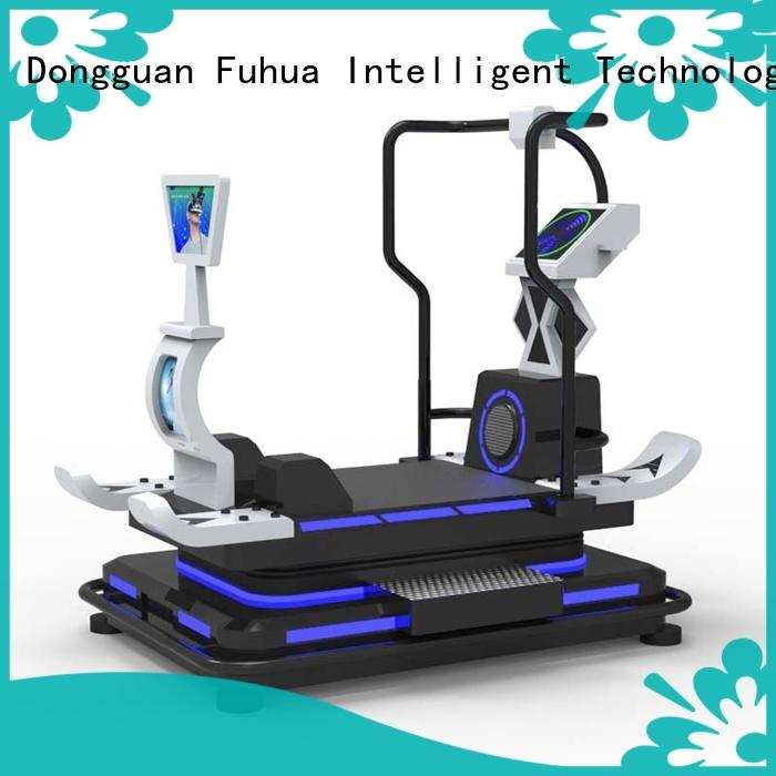 Fuhua fashionable horse riding simulator for sale for fitness game center