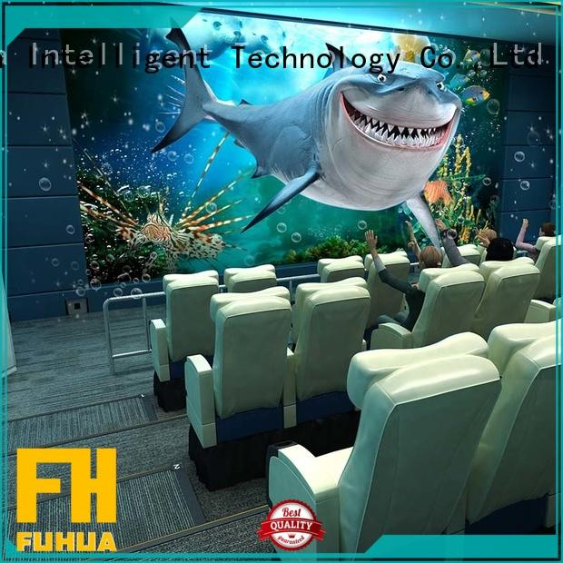 Fuhua motion 4d 5d cinema for kids for market