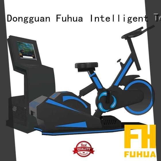 Fuhua health vr skiing for sale for fitness game center