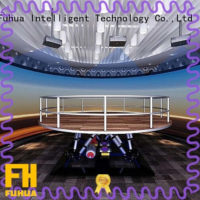 Fuhua 3D Earthquake Experience Museum Simulator for Science Education