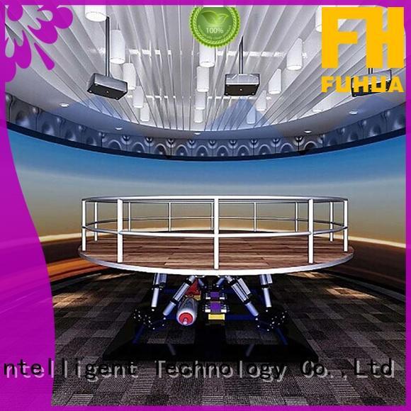 Fuhua automatic earthquake simulator engines for scenic area