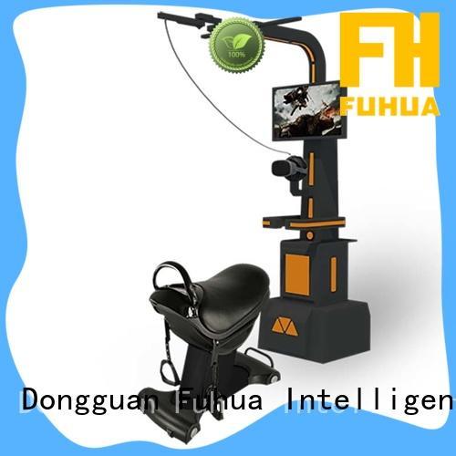 Fuhua international shooting game simulator for sale for amusement park