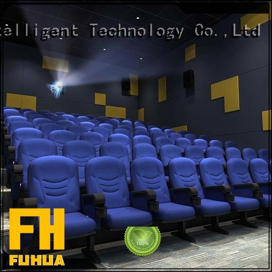 Fuhua Professional 3d cinema equipment for sale for theme park