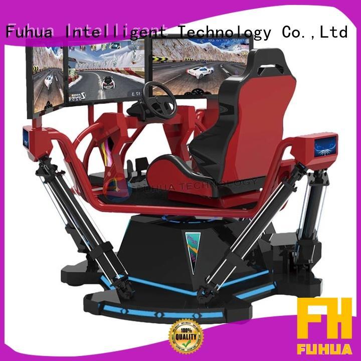 Fuhua cool vr racing simulator for amusement