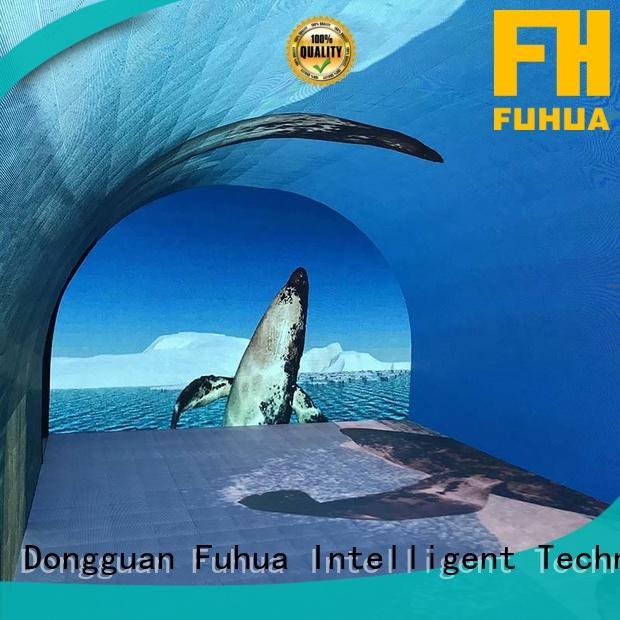 Fuhua led led wall screen for education for culture propaganda
