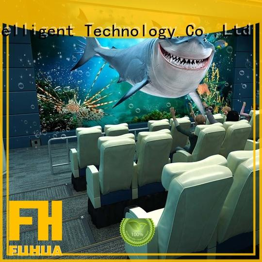 Virtual Reality 5d cinema Realistic Effect for theme park