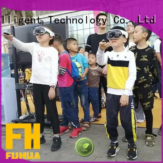 Fuhua Interactive mixed reality games for education for museum