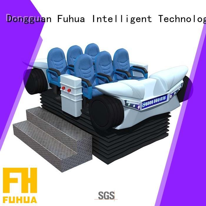 Fuhua fiberglass virtual reality 360 supply