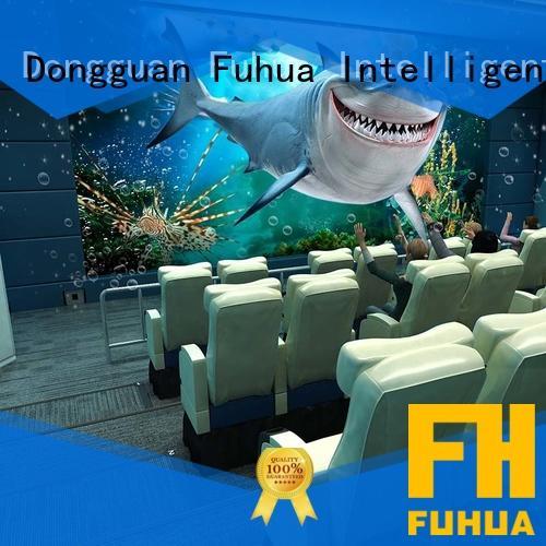 Fuhua cinema 4d 5d cinema for sale for theme park