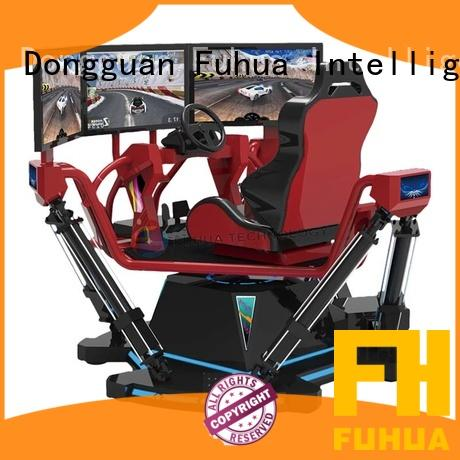 Fuhua machine car racing game simulator dynamic control technology