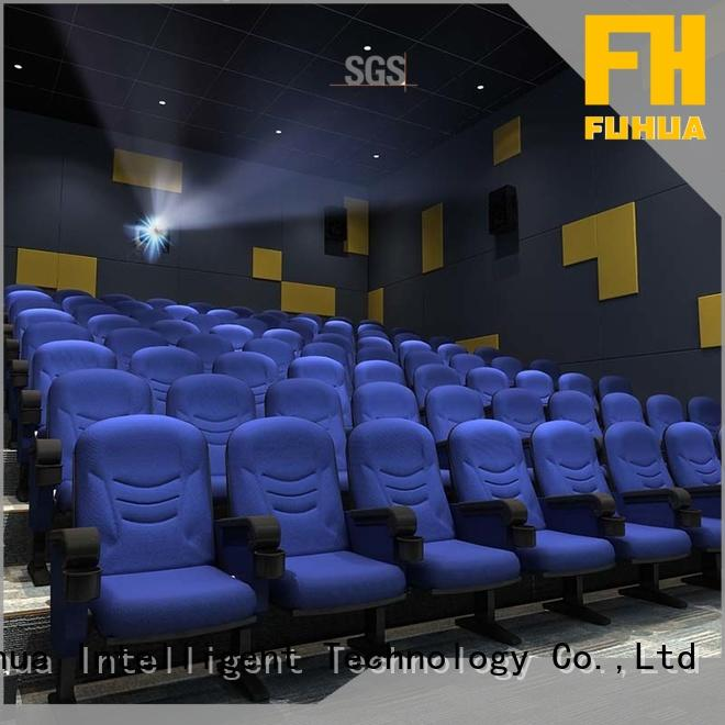 Fuhua economy 3d movie theater supply for park