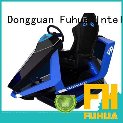 Fuhua fashionable vr racing simulator engines for cinema