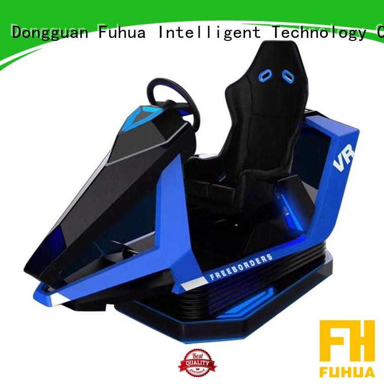 Fuhua motion racing car simulator engines