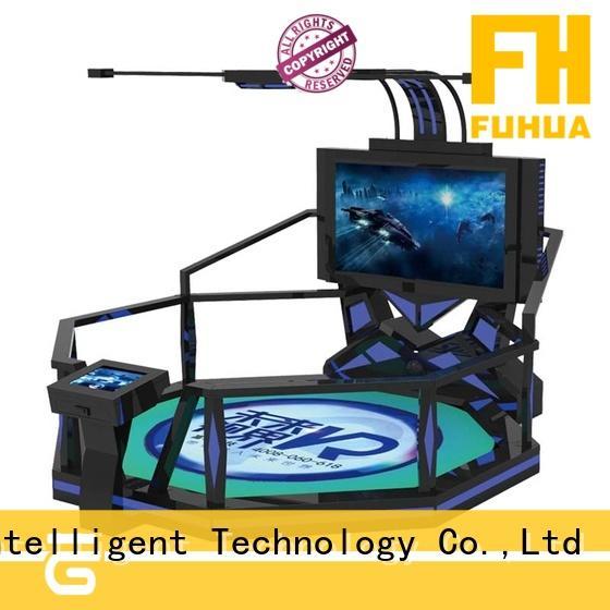Fuhua reality shooting simulator engines for amusement park
