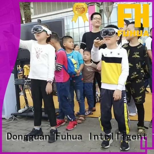 Fuhua Wireless vr multiplayer game for education for museum