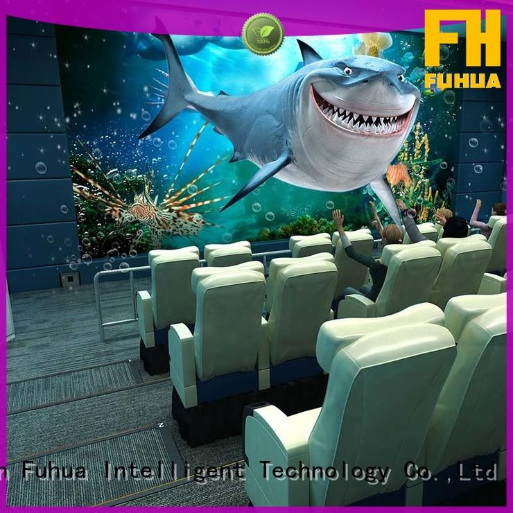 4dmax cinema 5d for theme park Fuhua