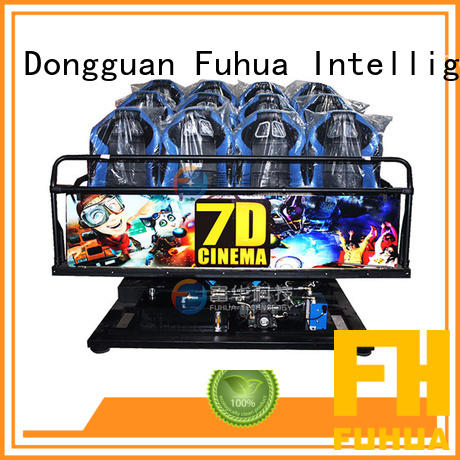 Fuhua Wireless 7d simulator cinema control system for shopping malls