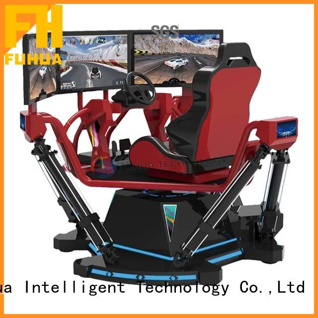 Fuhua fashionable vr racing car for sale for amusement