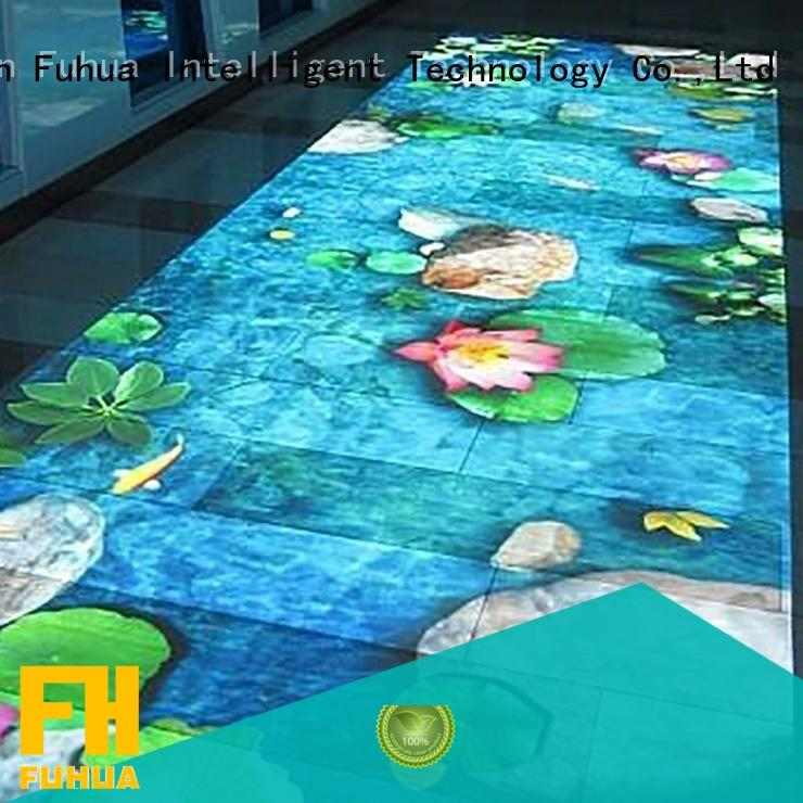 relaxing interactive projection game Enhance confidence for scenic area