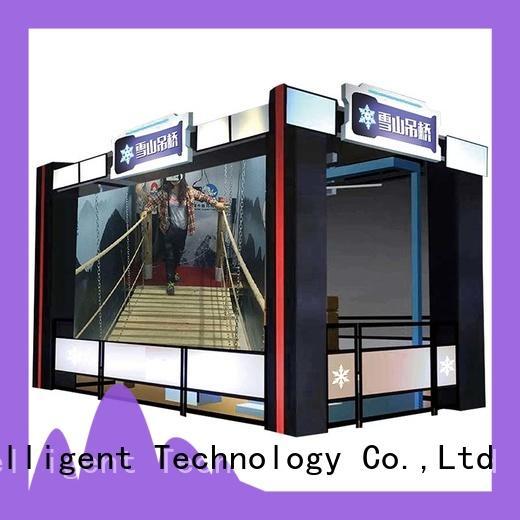 sports vr bridge bridge for space & science center Fuhua