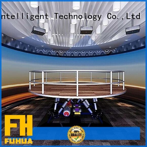 Fuhua high performance earthquake simulator machine engines for museum