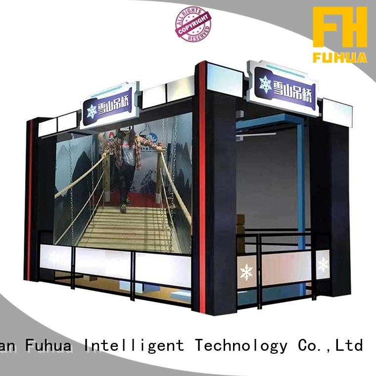 Fuhua Sports vr bridge simulator different experience for space & science center