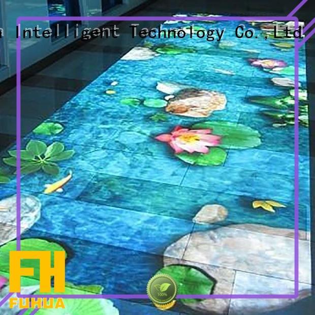 Fuhua projection 3d holographic projection improve ability for aquarium