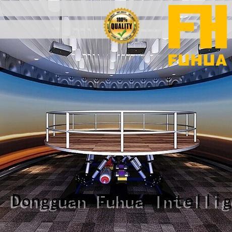 Fuhua fuhua earthquake simulator machine engines for scenic area