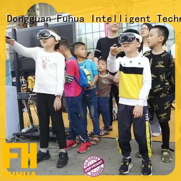 Fuhua high performance mixed reality games Realistic Effect for shopping malls