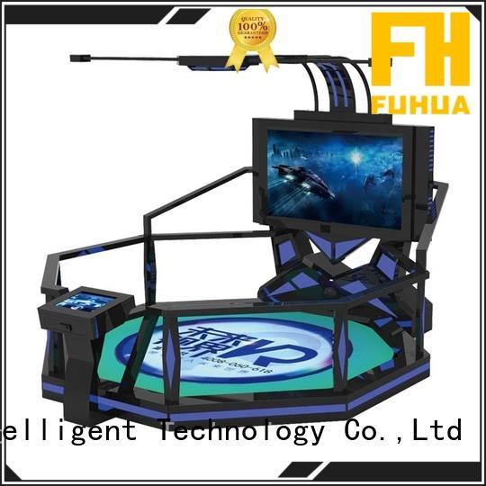 walking indoor shooting simulator engines for amusement park Fuhua