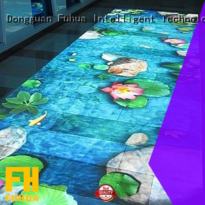 Fuhua game floor projection Enhance confidence