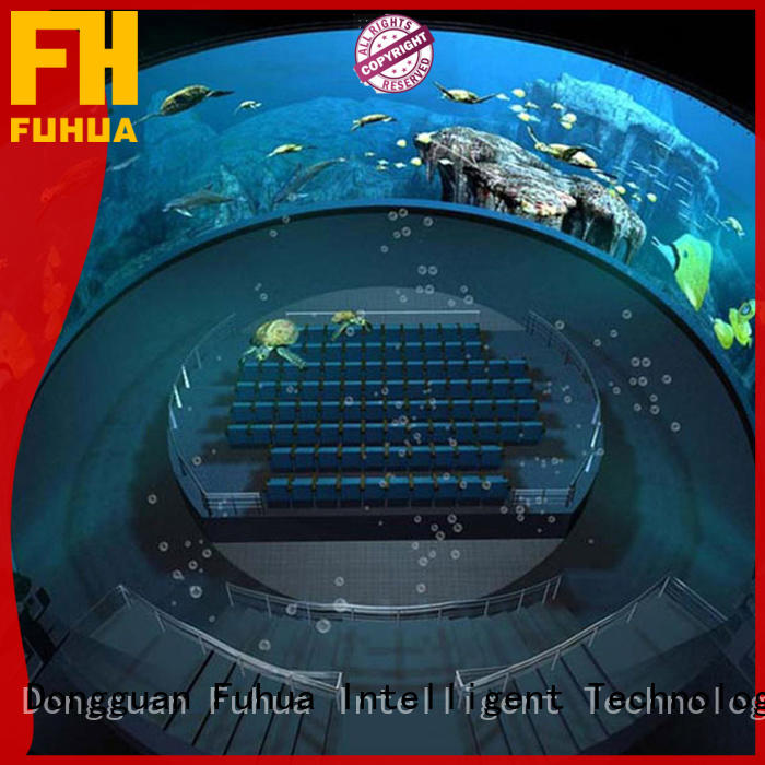 Fuhua Luxury Dome Cinema Theatre Fisheye Lens Projector system