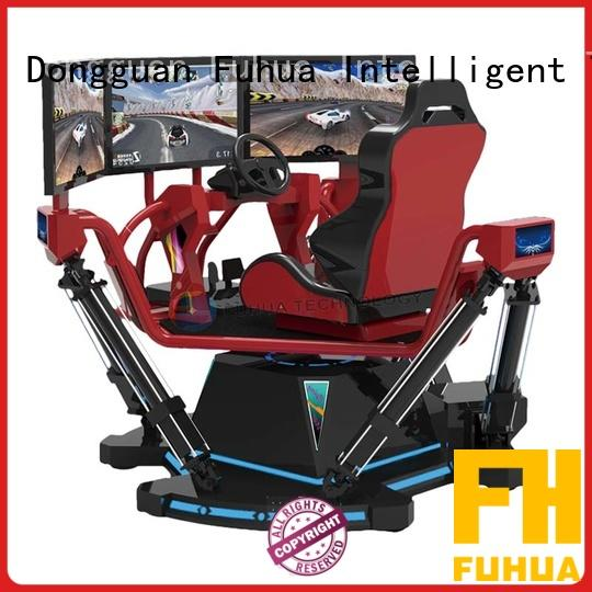 product car racing simulator cockpit for park Fuhua