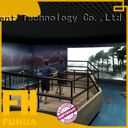 Fuhua typhoon voyage simulator for sale for scenic area