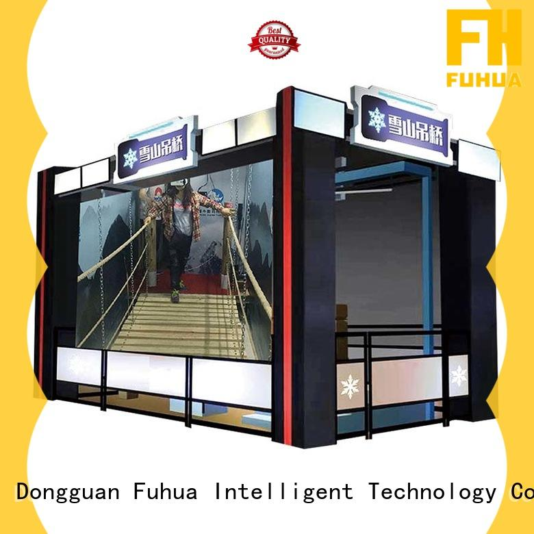 Fuhua virtual reality bridge different experience for aquariums