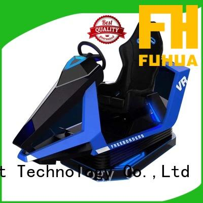 cool vr racing simulator screen dynamic control technology