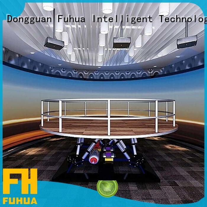 Fuhua museum earthquake simulator machine engines for scenic area