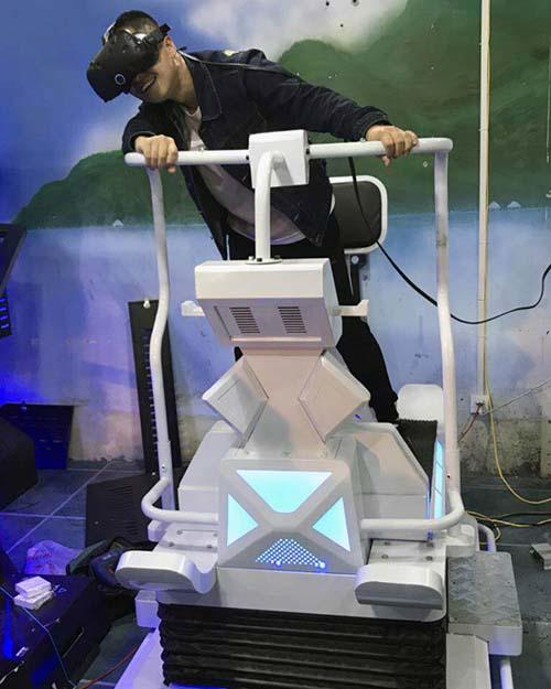 Attractive vr walker rowing for fitness game center-3