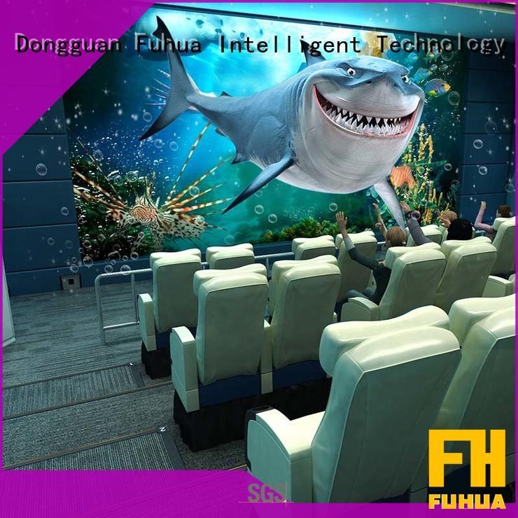 Fuhua successful 4d 5d cinema Realistic Effect for theme park